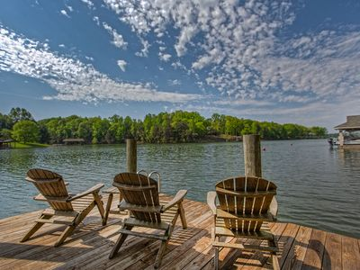 Photo for Sunrise Retreat, private dock, firepit