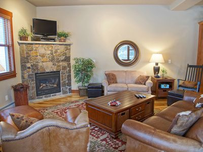 Photo for **Lift Ticket Discounts** Hot Tubs, On Shuttle Route,  Private Washer/Dryer, Deluxe End Unit Townhome,