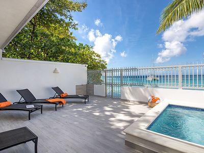 Photo for Beautiful Four Bedroom Beachfront Villa