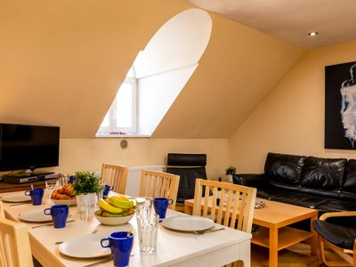 Photo for Modern Attic with 2 bathroom Klimentska Apt 108 - Apartment for 6 people in Praha
