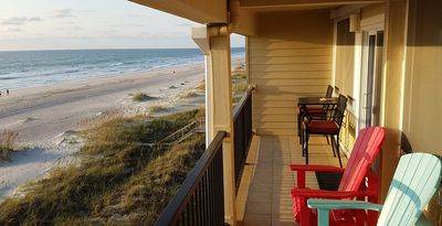 Photo for Top Floor Oceanfront, Steps To Beach, Huge Balcony, Amazing Views, Amelia Island