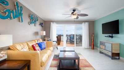 Photo for Beautiful Townhome Right On The Gulf - Get Ready To Relax!