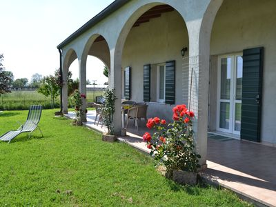 Photo for House in villa with large garden, patio and private park