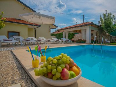 Photo for ctim238- Zmijavci - Makarska,Holiday house with private pool, ideal for families or small groups and can accommodate 6 + 2 persons