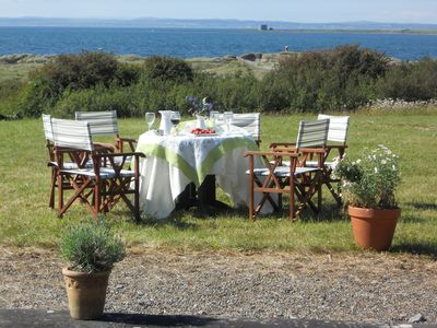 Photo for Burren seaside holiday home Ballyvaughan, Co Clare . Romantic getaway on beach.