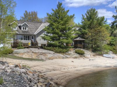 Photo for Sand and Fun on Georgian Bay~Large 7 bed 5 bath beachfront beauty!
