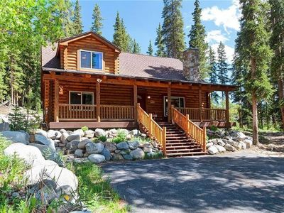 Photo for Very special log cabin! completley updated; close to skiing/Main St; hot tub
