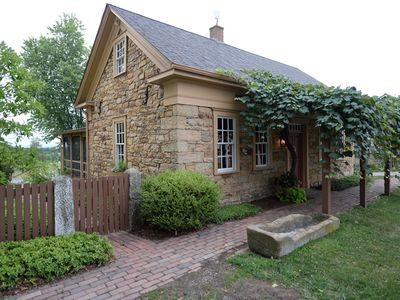 Photo for Peaceful, serene get-a-way cottage built in 1834