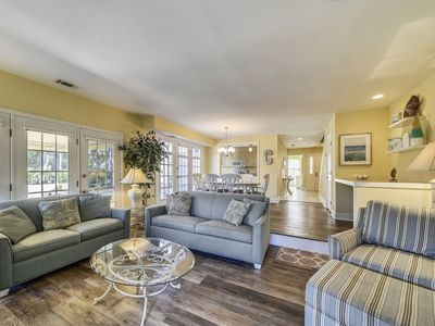 Photo for Tennis buffs will enjoy the view from this newly renovated 3 bedroom, 3 bath townhome located at Evi