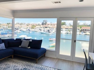 Photo for BALBOA ISLAND WATER FRONT - BEACH FRONT !!