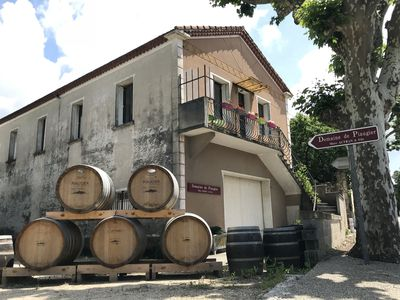 Photo for A wine-maker apartment in Sablet