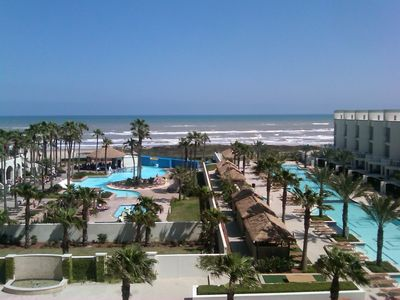 Photo for Great beach front 3 bedroom family condo