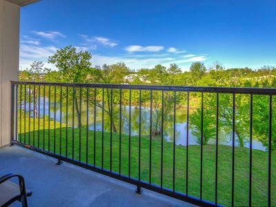 Photo for Riverfront condo w/ shared pool/hot tub & private balcony - near attractions!