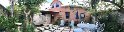 Panoramic view of the cottage