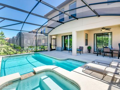 Photo for 6BD/4BA Spectacular pool home in Solterra Resort!!