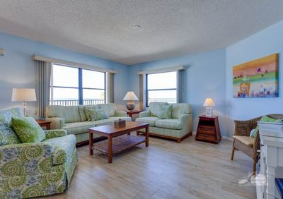 JC Resorts Emerald Isle 303 Living Room 2 Redington Shores