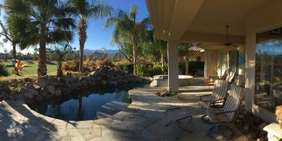 Photo for Gorgeous PGA West Golf Villa with Views, Waterfall Rock Pool and Spa