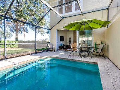 Photo for Townhouse with South Facing Splash Pool