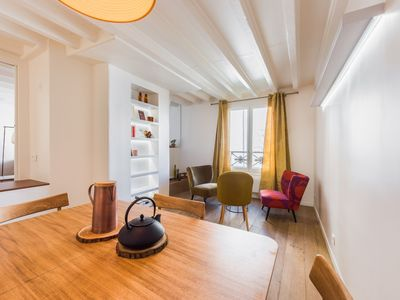 Photo for Tastefully decorated, Bright 2 Bedroom Apartment in Le Marais