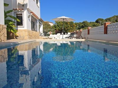 Photo for La Fustera Villa, Sleeps 9 with Pool, Air Con and WiFi