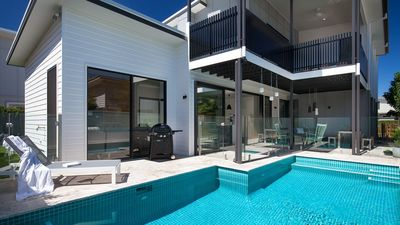 Photo for Waterline Beach House - Modern family and pet friendly home close to beach