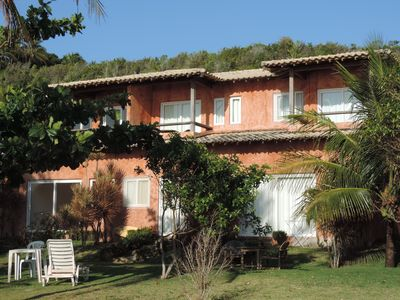 Photo for House facing the Pitinga Sea. Heavenly place. Foot on the sand.