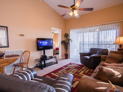 Photo for Overlook Grove - Cozy 2 bedroom condo with a beautiful view at Holiday Hills!