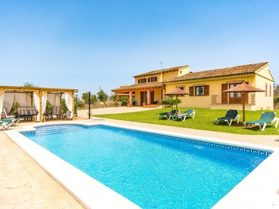 Photo for Finca Can Cocou for 11 persons near Can Picafort Mallorca
