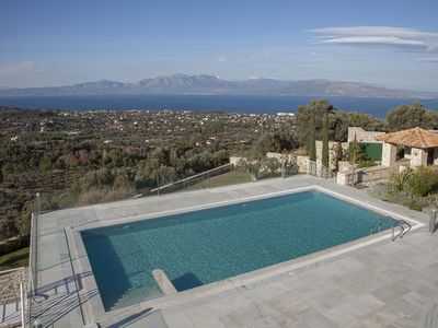 Photo for HESTIA : Your dream vacation home next to Athens and the island of Euboea