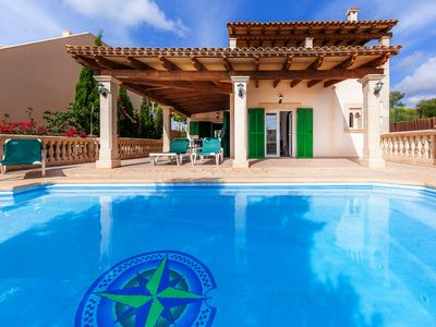 Photo for Villa with pool and sea view – Villa Can Mateu