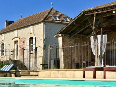 Photo for Spacious Holiday Home in Saint-Sylvestre-sur-Lot with Pool