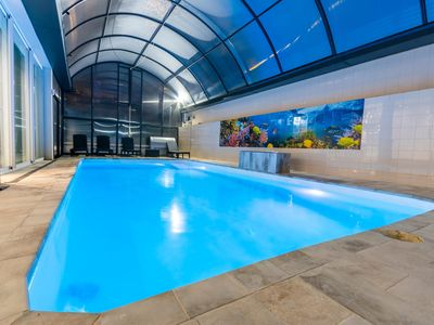 Photo for VILLAMARLY III WITH 2 SWIMMING POOLS 200 METERS FROM THE BEACH CASTELLDEFELS-SITGE
