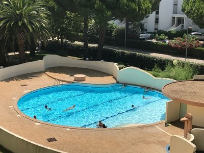 Photo for La Grande Motte, apartment with 2 bedrooms, swimming pool, garage