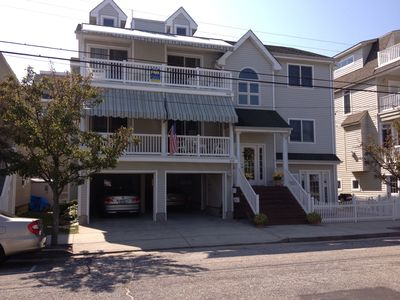 Street view of 824 Delancey Place, Ocean City, NJ.