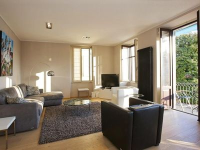 Photo for Exclusive 3-room apartment (about 140 m²) with a fantastic view of the lake