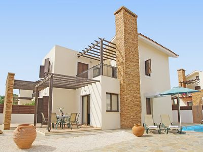 Photo for This 3-bedroom villa for up to 6 guests is located in Ayia Napa and has a private swimming pool, air