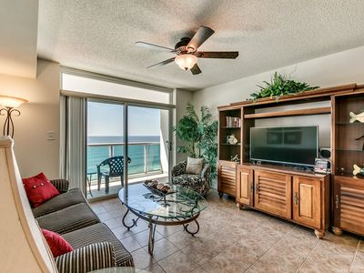 Photo for Crescent Keyes 1006, 1 Bedroom Beachfront Condo, Hot Tub and Free Wi-Fi!