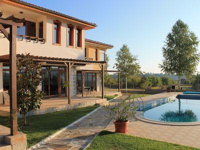 Photo for Villa 'Eagle', with Pool, Spa, Tennis, Gym, Driving Range  & Beautiful Views