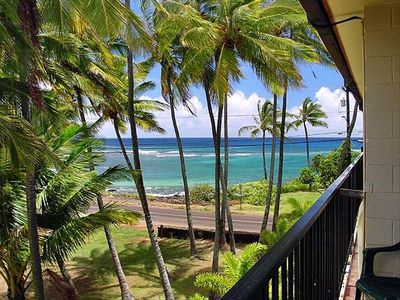 Photo for Poipu, Ocean View, Pool, Walk to the beach and Relax!