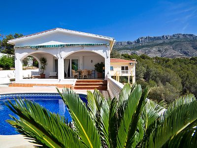 Photo for 3 bedroom Villa, sleeps 6 in Partidor with Pool, Air Con and WiFi