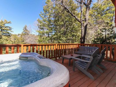 Photo for Wildwood Ridge: Pool Table! Hot Tub! Cable & Internet! Forest Views!