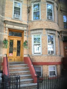 Photo for Charming Brownstone with High Ceilings  5 beds ,  Sleeps 8!