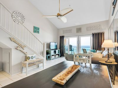 Photo for ☀Crystal Sands 315A☀ 2BR+loft-OPEN Aug 3 to 10! Gulf Front Views-Beach Service