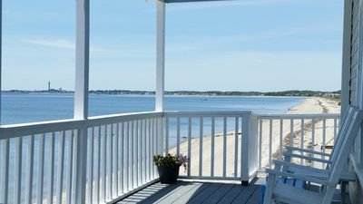 Photo for Direct Ocean Front 4 Bedroom, 2 bath Quintessential Cape Cod Cottage! 2 Kayaks!