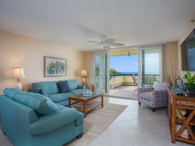 Photo for Completely Remodeled!!! Beautiful 3 Bedroom Beachfront Condo,  gorgeous sunsets