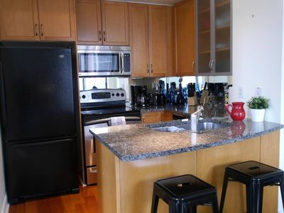Photo for Luxury 2BR Condo in Yorkville with Parking!