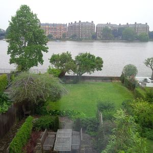 view of shared garden from apartment