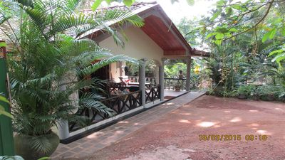Photo for TRANQUIL ELEGANCE IN A JUNGLE SETTING - COOKED BREAKFAST INCLUDED