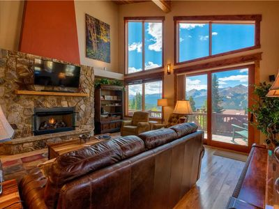 Photo for Firelight Luxury: 4 BR / 3.5 BA townhome in Breckenridge, Sleeps 12