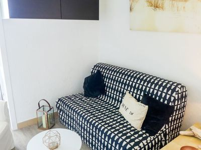 Photo for Apartment Les Trois Mâts in Canet-Plage - 2 persons, 1 bedrooms